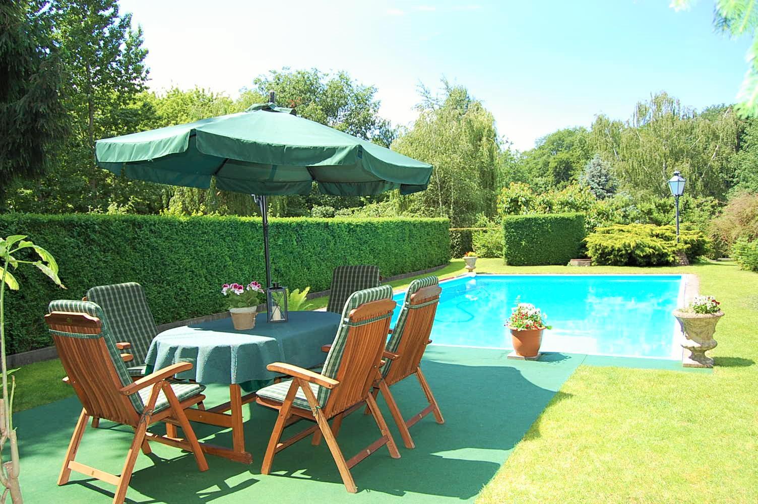 Ferienwohnung Caputh Garten, Pool