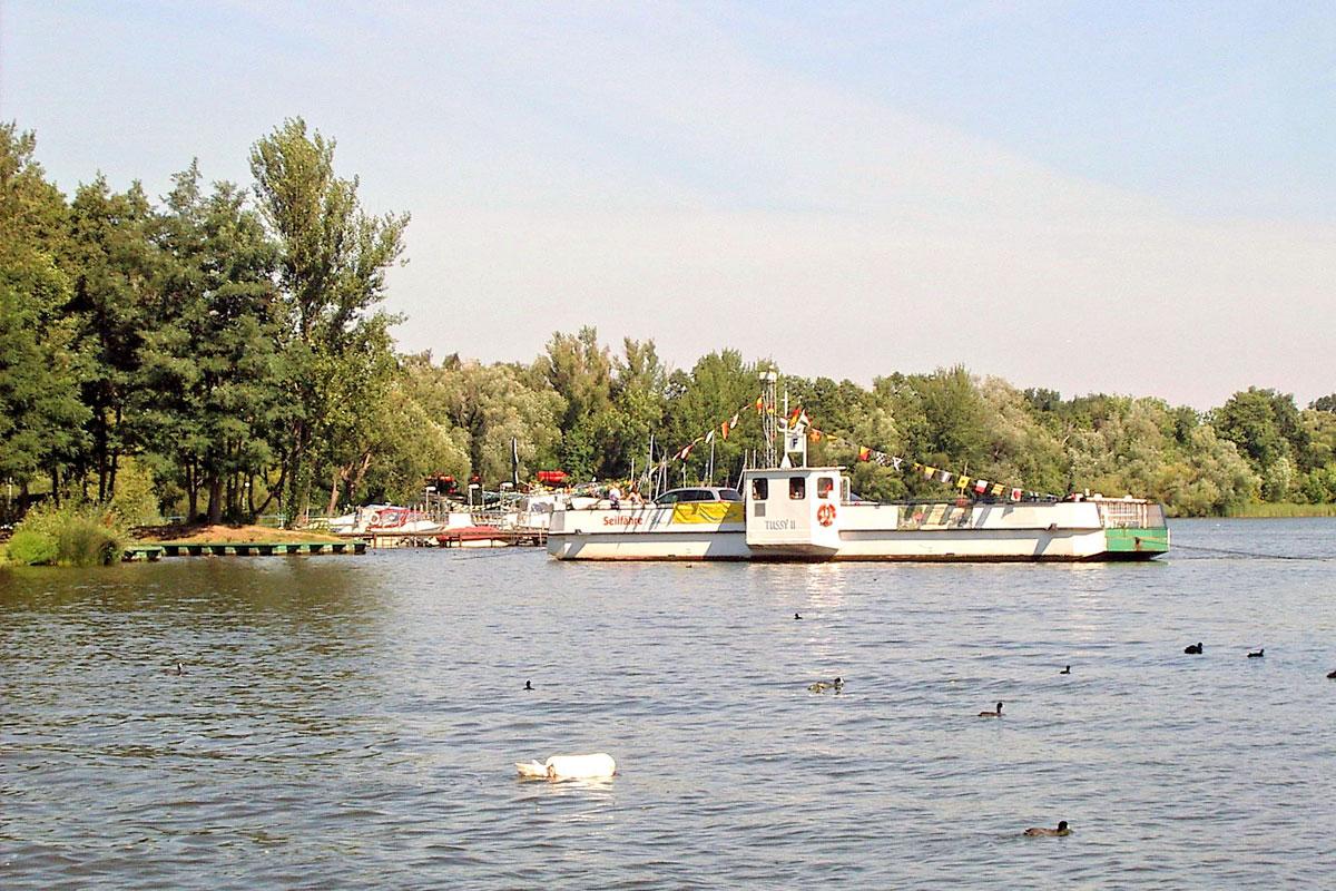 caputh , Ferienwohnung am Wasser